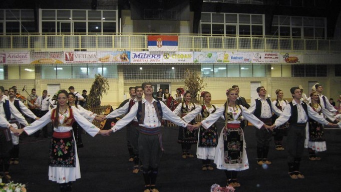 Koncert folklora u sportskoj hali