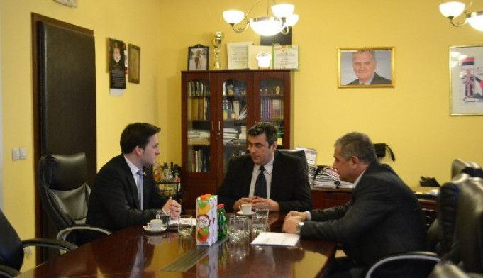 Ministar pravosuđa posetio sudsku kancelariju